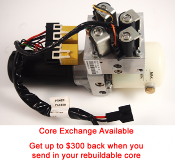 Rebuild/Upgrade Service for '03-'07 Chrysler Crossfire Hydraulic Pump 5142638AA or A193 800 00 30