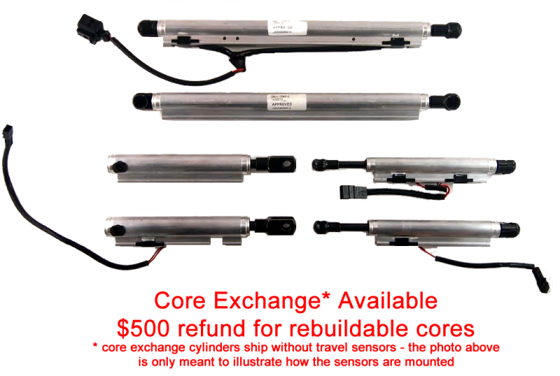 Rebuild & Upgrade Service for Infiniti G37 Right 5th Bow Cylinder