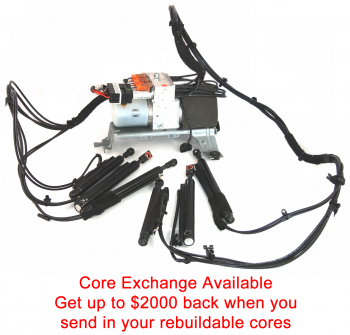 Special Option: Core Exchange for your complete Continental GTC hydraulic top system