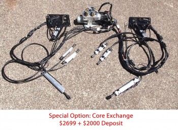 Complete Top Hydraulic System for '03-'06 Chevy SSR