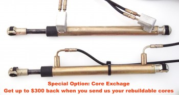 Special Option: Core Exchange for Pair of Bow Tension Cylinders