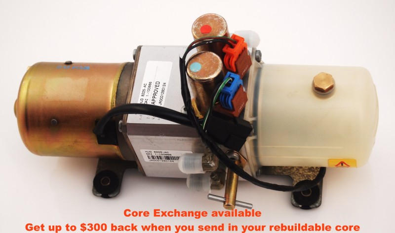 Rebuild/Upgrade Service for '96-'06 Jaguar XKR/XK8 Hydraulic Pump