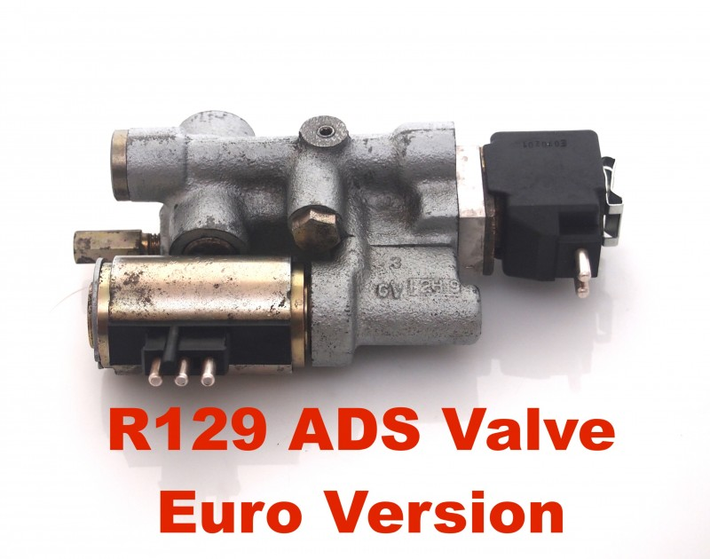 Rebuild & Upgrade service for your R129 SL-Class ADS Suspension Valve