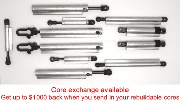Full Set of 11 Volvo C70 Top Hydraulic Cylinders