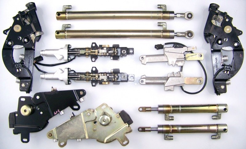 Full Set of 12 Convertible Hydraulic Cylinders