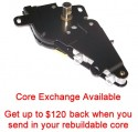 Special option: Core exchange Case cover lock & Cylinder assembly