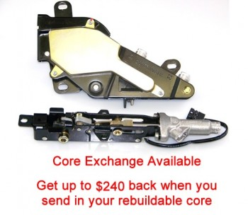 Special option: Core exchange Case cover & Rear Bow Lock assemblies with Cylinders