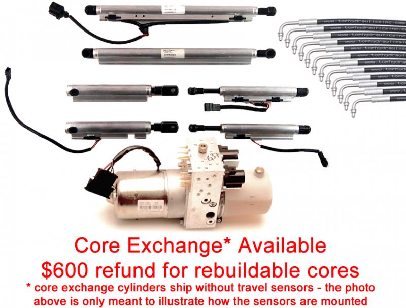 Infiniti G37S 0 60 >> Special Option: Core Exchange for Full Set of Infiniti Q60 ...