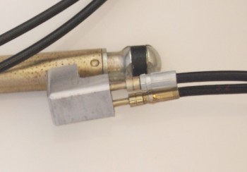 Replace hydraulic line 31,...