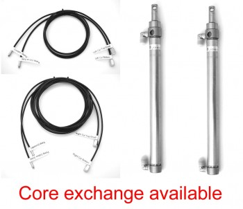 Rebuild/Upgrade Service for 2001-present VW New Beetle Hydraulic Cylinders plus Full Set of Hydraulic Hoses