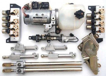 Rebuild/upgrade service for Full set of E-Class Hydraulic Cylinders with Hydraulic Pump and Valves