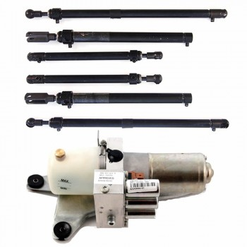 audi complete hydraulic system upgrade full set of cylinder and hydraulic pump