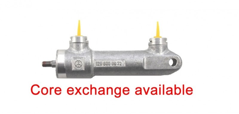 Rebuild/Upgrade service for Tonneau/Case Mercedes W208 CLK-Class Cover Lock Cylinder 1298000072 aka A129 800 00 72