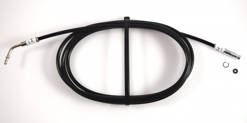 New hydraulic hose 47 rear bow lock to pump A 208 800 14 81