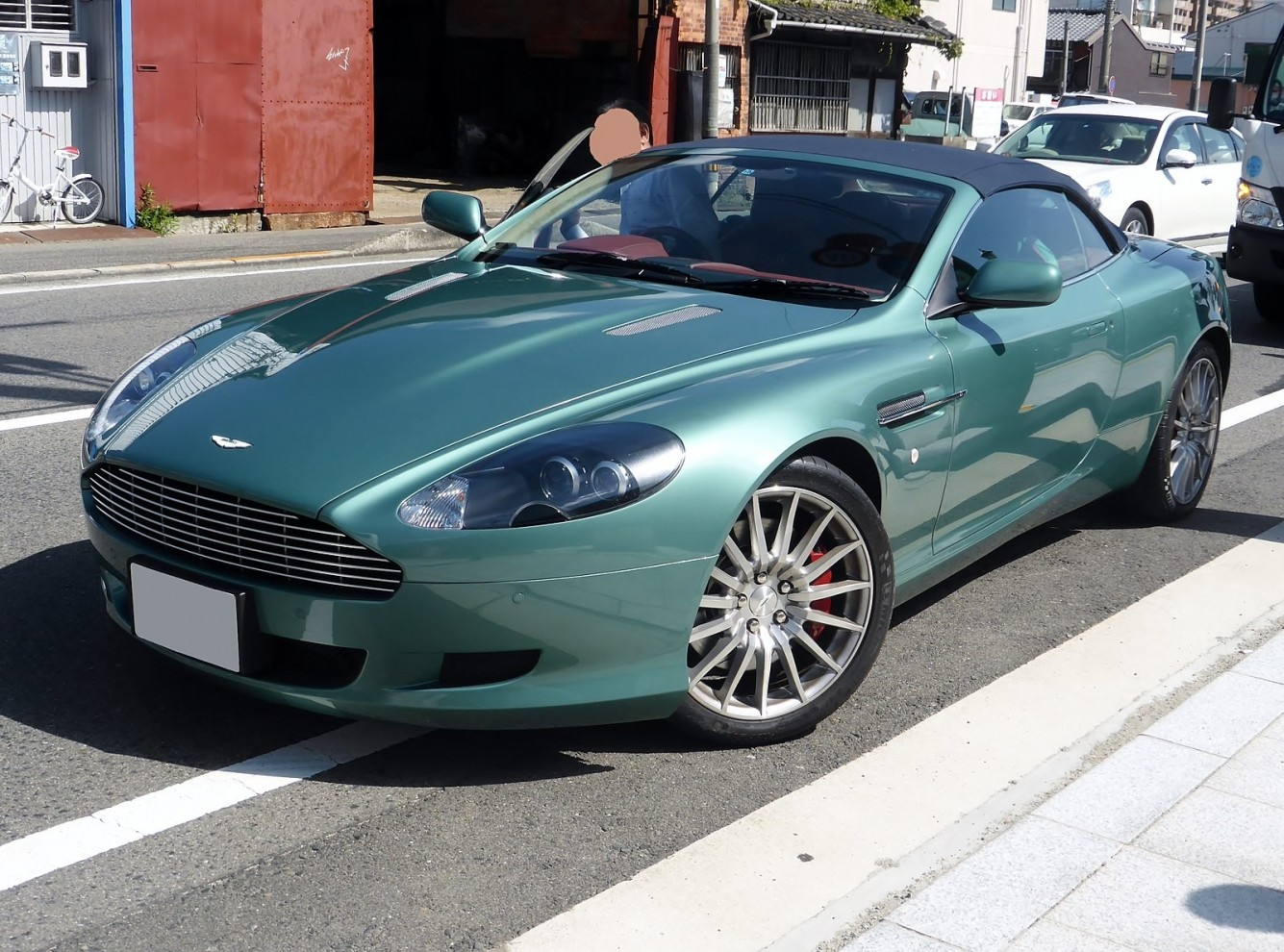 Aston Martin DB9 Volante - Top Hydraulics, Inc.
